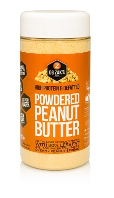 Dr Zak's new Powdered Peanut Butter