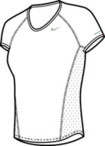 Nike – Womens Core Sphere SS Top
