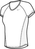 Nike – Womens Core Sphere SS Top