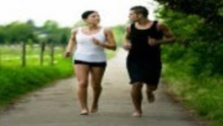 Barefoot Running!