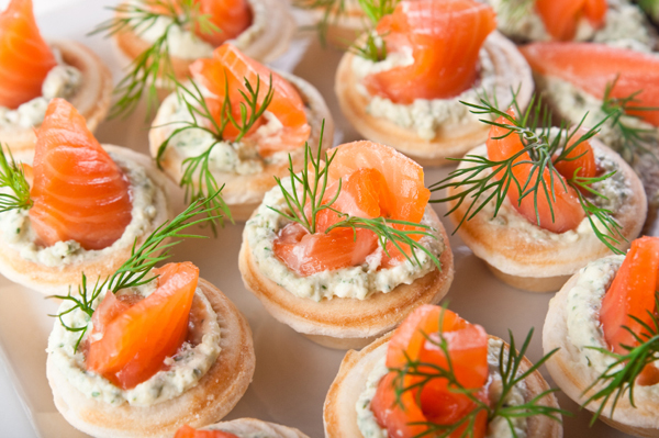 Healthy Canape And Snack Recipes For Runners