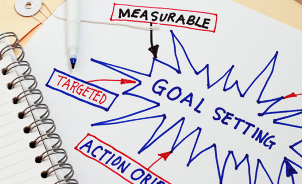 How to split large goals into smaller targets