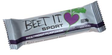 NEW and improved BEET IT SPORT Beetroot flapjack