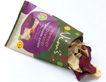 Giving potatoes a run for their money – Nim's Fruit Crisps