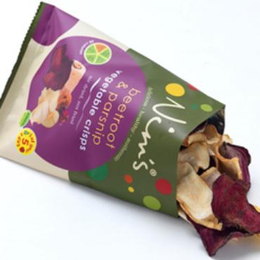 Giving potatoes a run for their money – Nim's Fruit Crisps